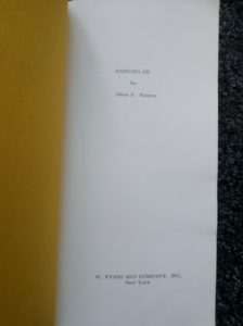 Hanging On (proof title page)
